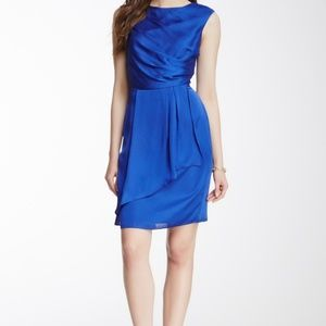 Vince Camuto Sleeveless Drape Front Dress